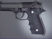 Beretta 92/96 series grip with Finger Grooves 92000
