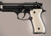Beretta 92 Smooth Ivory Polymer HOGUE 92020