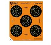 "Caldwell Orange Peel Target 2"" Self-Adhesive Bullseye 5 Bulls Pe"