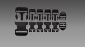 Field Repair Kit (7 Buckles per Kit) VOODOO 02-7407