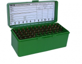 MTM Flip-Top Ammo Box 22-250 Rem, 243 Win, 308 Win. 60RD PLASTIC