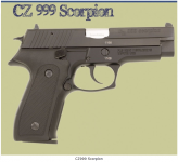 ZASTAVA CZ999 SCORPION Cal. 9mm 15RD