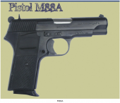 ZASTAVA Μ88A Cal. 9mm 8RD